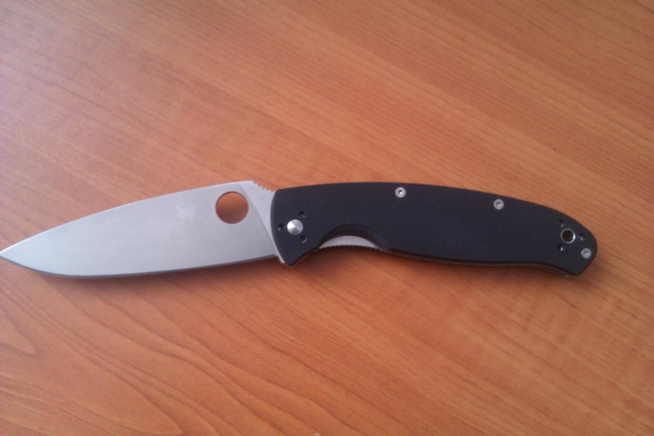 Обзор ножа spyderco resilience нож купить ka-bar