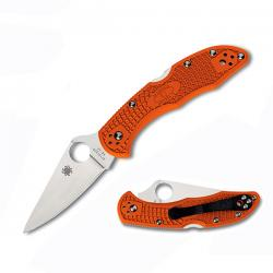 Картинка Нож Spyderco Delica4 Flat Ground