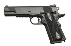 SAS (M1911 Tactical) Blowback. Корпус - металл (KMB-77AHN)