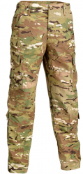 Картинка Defcon 5 TACTICAL BDU PANTS 100% RIP-STOP COTTON MULTICAMO L ц:мультикам