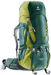 Картинка Deuter Рюкзак Aircontact 65+10 цвет 2218 forest-moss