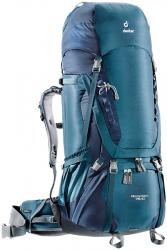 Картинка Deuter Рюкзак Aircontact 75+10 цвет 3329 arctic-navy