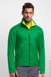 Картинка Icebreaker Helix LS Zip MEN lucky/chartreuse/bottle M