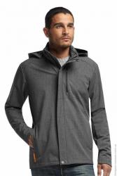 Картинка Icebreaker Legion LS Zip HOOD monsoon hthr M