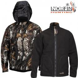 Картинка Куртка Norfin Hunting Thunder Staidness/Black XL
