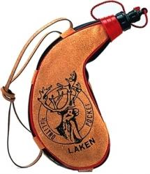 Картинка Laken PK500-C Leather canteen 0,5 L. kidney shape