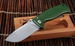 Картинка Нож Lionsteel SR2  Mini Aluminium green