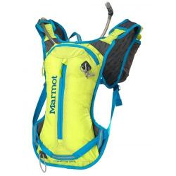 Картинка Рюкзак Marmot Kompressor Speed с Hydrapak 2l и флягой Hydpapak 0.5l green lime/atomic blue