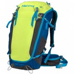 Картинка Рюкзак Marmot OLD Kompressor Verve 32 green lime/atomic blue