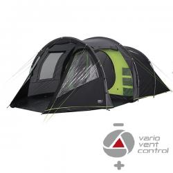 Картинка Палатка High Peak Paros 5 (Dark grey/Green)