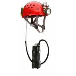 Фонарь Petzl с каской Exporer LED 14 lamp+helmet (E70L14)