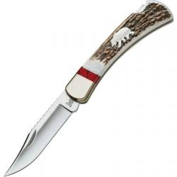 Buck Folding Hunter WBC Grizzly Bear (110EKSLE4B)