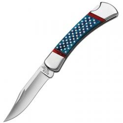 Картинка Нож Buck Stars & Stripes Folding Hunter ®, лімітована серія