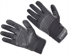 Картинка Defcon 5 ARMOR TEX GLOVES WITH LEATHER PALM BLACK XXL