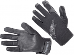 Картинка Defcon 5 SHOOTING GLOVES WITH LEATHER PALM BLACK XXL