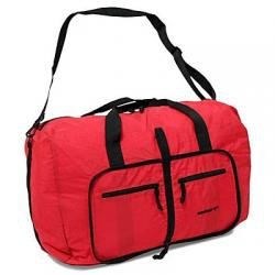 Картинка Сумка дорожная Members Holdall Ultra Lightweight Foldaway Large 71 Red