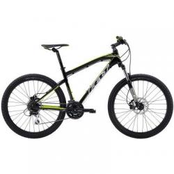 Велосипед Felt MTB SIX 70 gloss black (white, acid green) 21.5